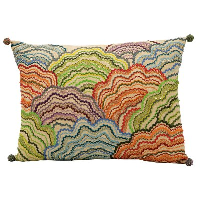 Michelle Blue/Green/Orange Lumbar Pillow