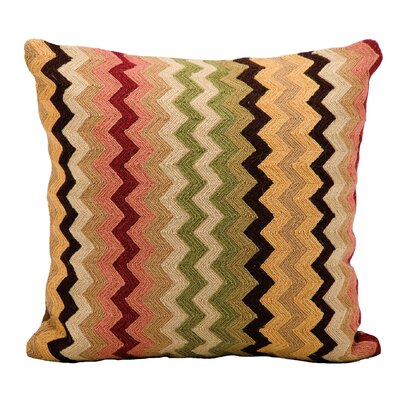 Carrera Chevron Throw Pillow