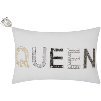 Mikonos Queen Cotton Duck Lumbar Pillow