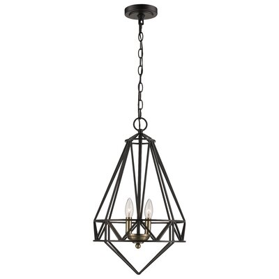 Bergen Beach 2-Light Foyer Pendant