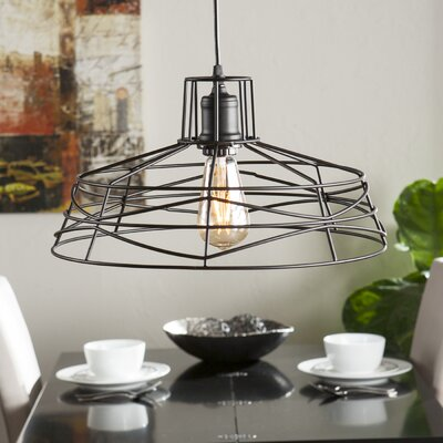 Bressler 1-Light Foyer Pendant