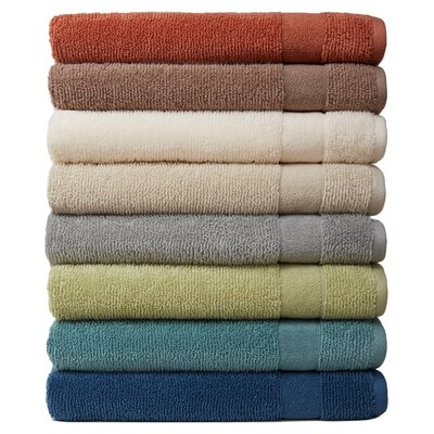Deberry 6 Piece Kushlon Texture Towel Set Color: Cement