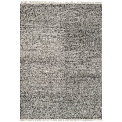 Mcdavid Hand Woven Silk Black Area Rug Rug Size: Rectangle 5 x 76