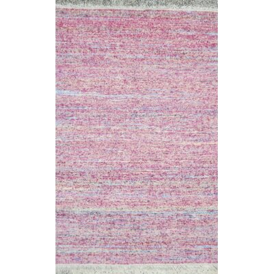 Brinkerhoff Pastel Pink Area Rug Rug Size: Rectangle 8 x 10