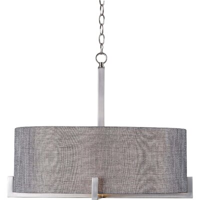 Brooklyn Heights 4-Light Drum Pendant