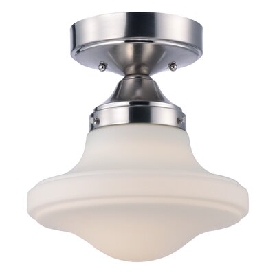 Adelia 1-Light Semi-Flush Mount