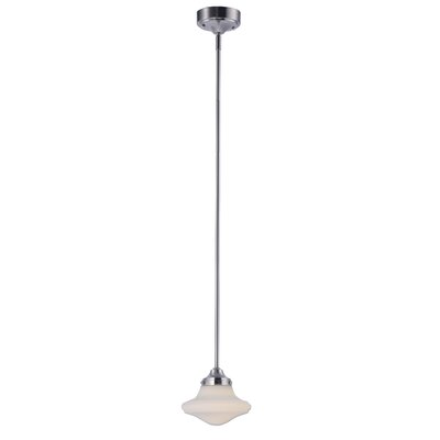 Adelia 1-Light Schoolhaouse Mini Pendant