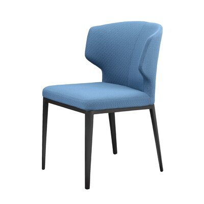Seaborn Side Chair Upholstery: Blue