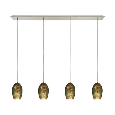 Burks 4-Light Kitchen Island Pendant