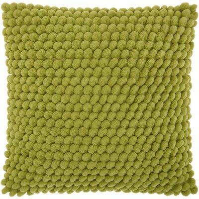 Breshears Throw Pillow Color: Apple Green