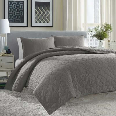Atami Reversible Coverlet Set Size: Twin