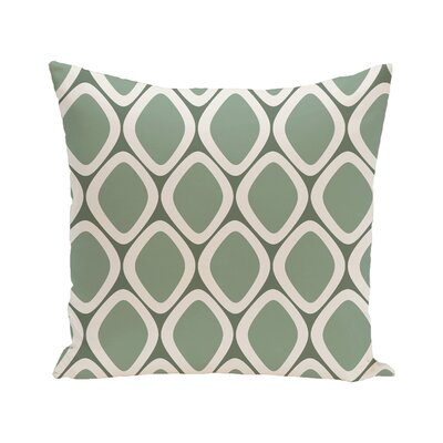 Sevier Geometric Print Outdoor Pillow Color: Mahogany, Size: 16 H x 16 W x 1 D