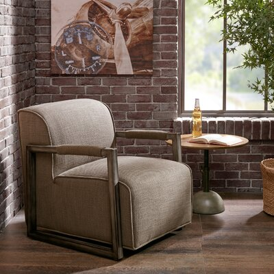 Luciano Armchair Upholstery Color: Charcoal