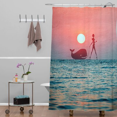 Sharrow Fancy Pet Shower Curtain