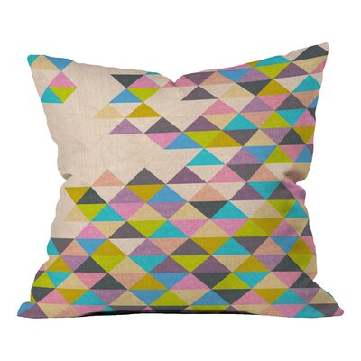 Menodora Completely Incomplete Indoor/Outdoor Throw Pillow Size: 18 H x 18 W