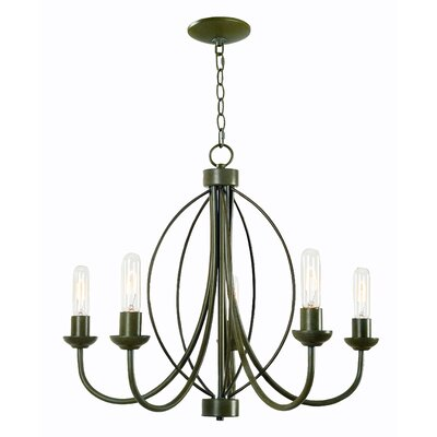 Shawver 5-Light Candle-Style Chandelier