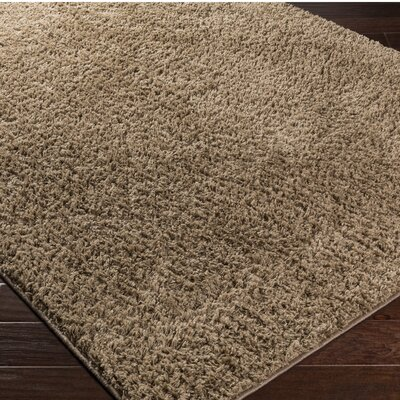 Damien Brown Area Rug Rug Size: 8 x 10