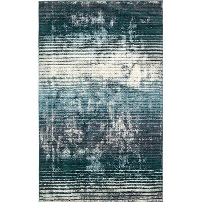 Brayden Blue Area Rug Rug Size: 5' x 8'