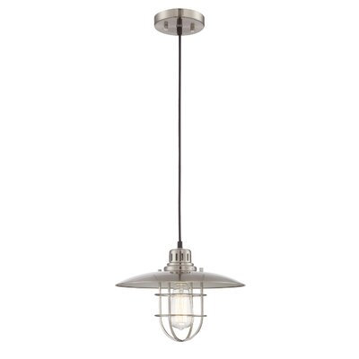 Timaios 1-Light Mini Pendant Finish: Brushed Nickel