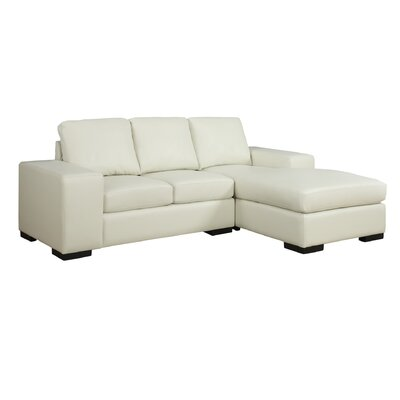 Asaro Sectional Upholstery: Ivory