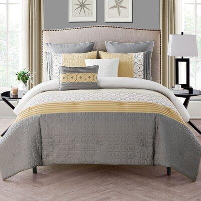 Slattery 7 Piece Comforter Set Size: King