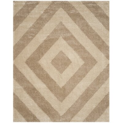 Slawson Beige/Brown Area Rug Rug Size: Rectangle 67 x 92