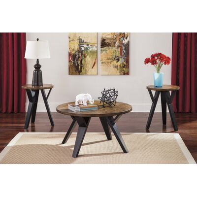 Sliva 3 Piece Coffee Table Set