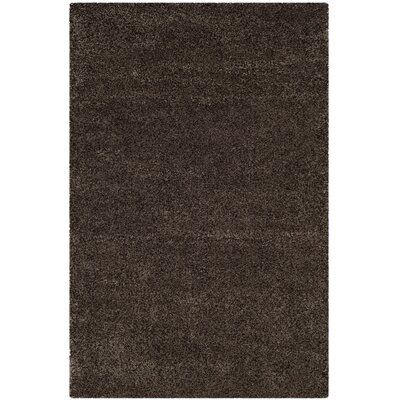 Brickner Brown Area Rug Rug Size: Rectangle 9-6 X 13