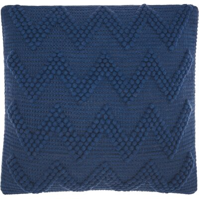 Breuer Throw Pillow Color: Indigo
