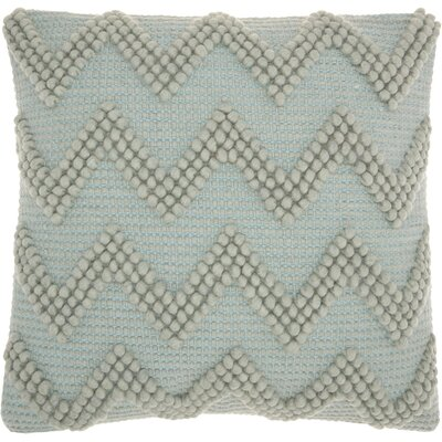 Breuer Throw Pillow Color: Seafoam, Size: 20 H x 20 W