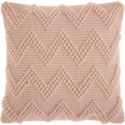 Breuer Throw Pillow Color: Rose