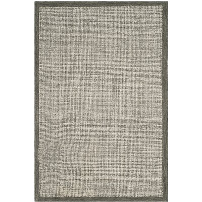 Blohm Hand-Tufted Beige Area Rug Rug Size: Rectangle 6 x 9