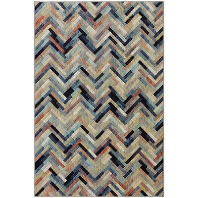 Carte Caftan Beige Area Rug Rug Size: Rectangle 53 x 710