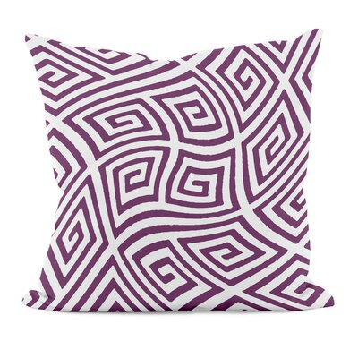Adorno Throw Pillow Size: 20 H x 20 W, Color: Purple