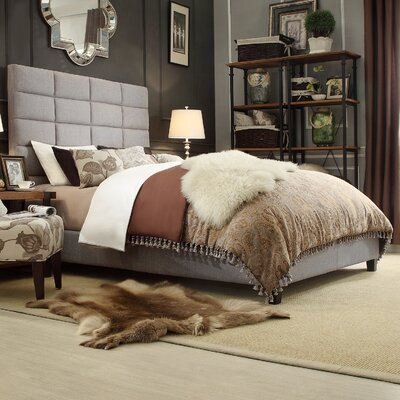 Inglenook Upholstered Panel Bed Size: Queen