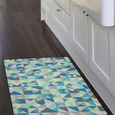 Brodeur Triangles Kitchen Mat