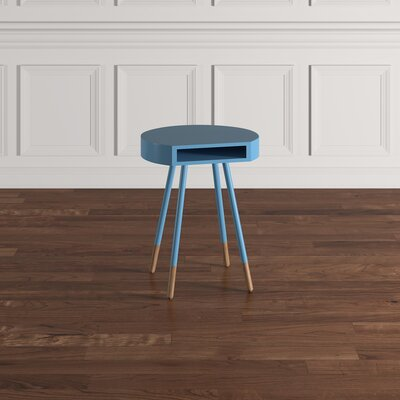 Camire End Table Color: Heritage Blue