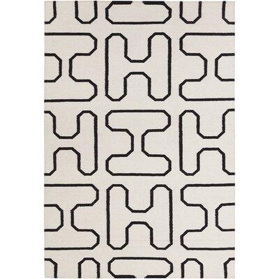 Cael Geometric Area Rug Rug Size: 5 x 7