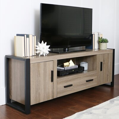 Theodulus Deluxe 60 TV Stand Mount: No, Color: Driftwood