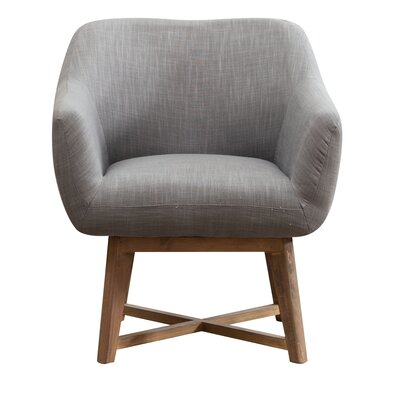 Colter Arm Chair Upholstery: Dark Gray