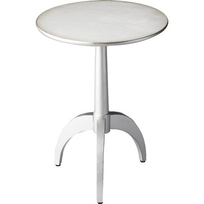 Mauro End Table Color: Pearlesque Silver