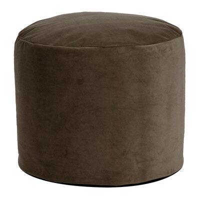 Enosburgh Tall Pouf Bella Ottoman Color: Chocolate