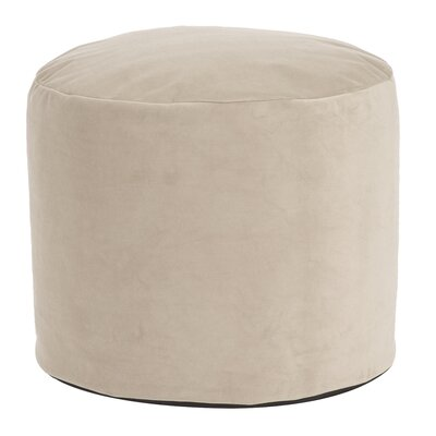 Butkovich Tall Pouf Bella Ottoman Color: Sand