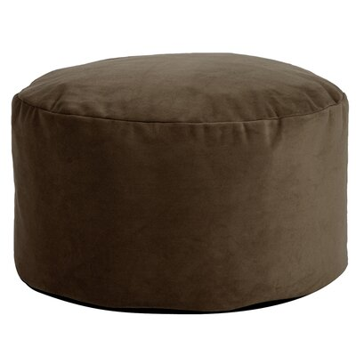 Fairfax Foot Pouf Color: Chocolate