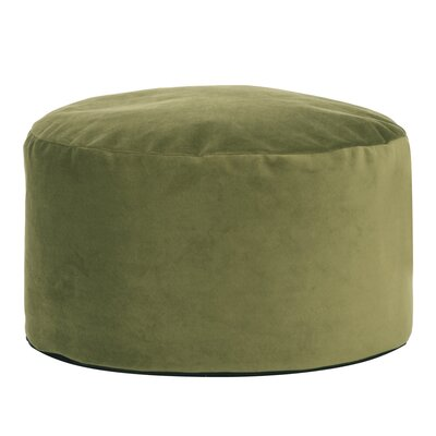 Butner Foot Pouf Bella Ottoman Color: Moss