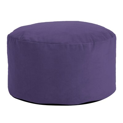Fairfax Foot Pouf Bella Ottoman Color: Eggplant