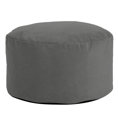 Fairfax Foot Pouf Bella Ottoman Color: Pewter