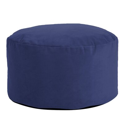 Fairfax Foot Pouf Bella Ottoman Color: Royal