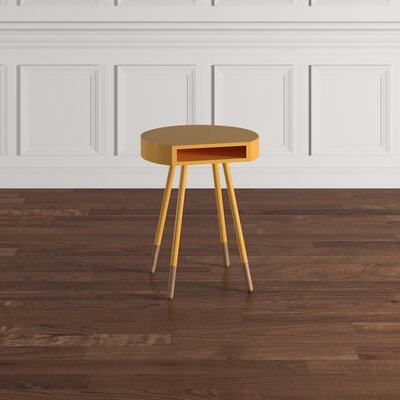 Camire End Table Finish: Banana Yellow