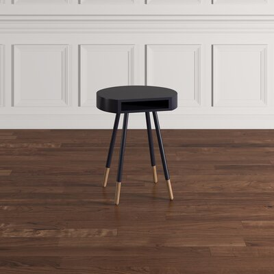Camire End Table Finish: Vulcan Black